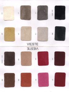 Cartella colori della pelle tipo camoscio pagina 1
